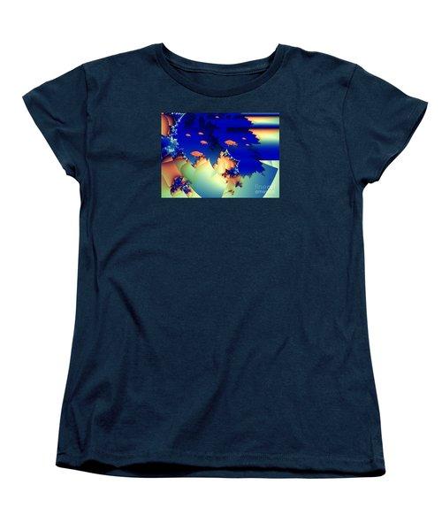 Window On The Undersea Women's T-Shirt (Standard Cut) by Ron Bissett