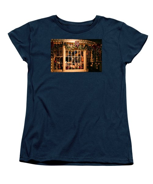 Window Shopping Women's T-Shirt (Standard Cut) by Kristin Elmquist