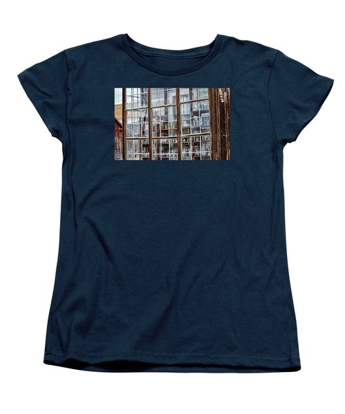Window To The Past Women's T-Shirt (Standard Cut) by AJ Schibig