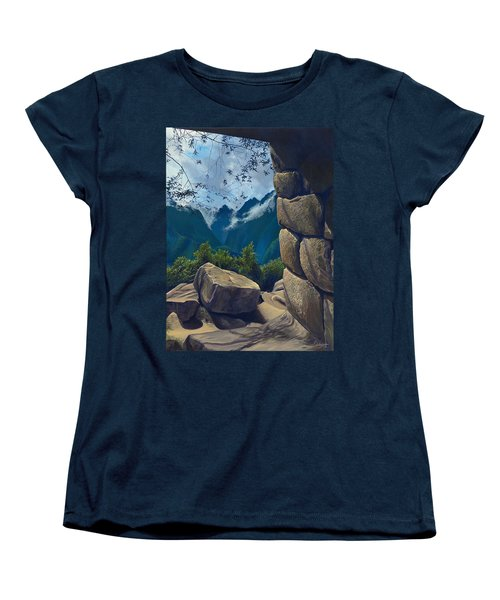 Window To The Past Women's T-Shirt (Standard Cut)