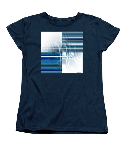 Window To Whirlpool Women's T-Shirt (Standard Cut) by Thibault Toussaint