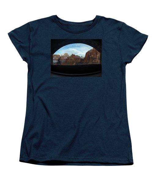 Window To Zion Women's T-Shirt (Standard Cut)