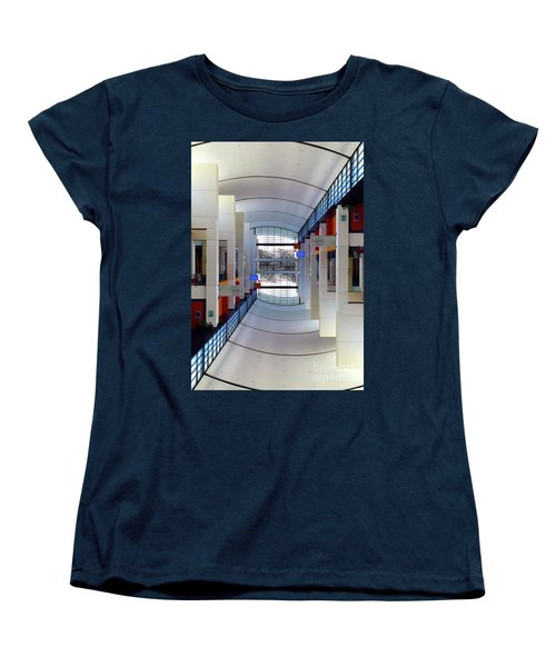 Women's T-Shirt (Standard Cut) featuring the photograph Windows by Brian Jones