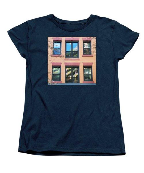 Window Reflections  Women's T-Shirt (Standard Cut) by Susan Stone