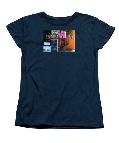 Women's T-Shirt (Standard Cut) featuring the photograph Wine Cellar by Richard Patmore
