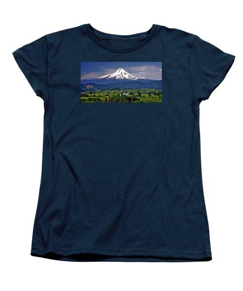 Wine Country Women's T-Shirt (Standard Cut) by Scott Mahon