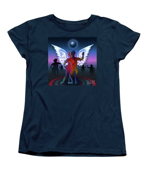 Winged Life Women's T-Shirt (Standard Cut) by Rosa Cobos
