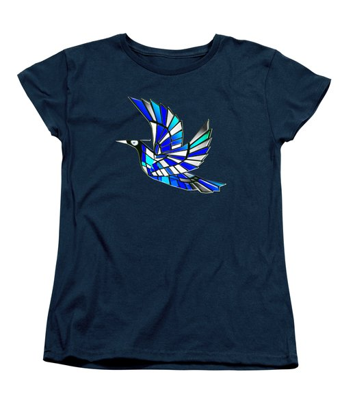 Wings Women's T-Shirt (Standard Cut) by Asok Mukhopadhyay