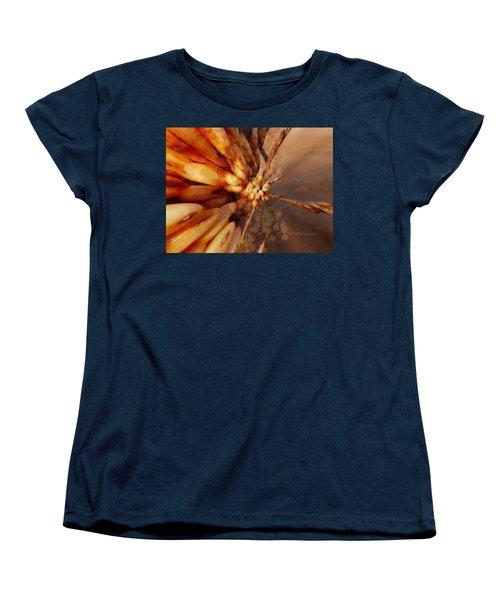 Winter Berries Women's T-Shirt (Standard Cut) by Keith Elliott