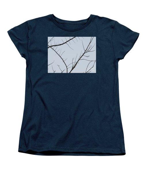 Winter Branches Women's T-Shirt (Standard Cut) by Craig Walters