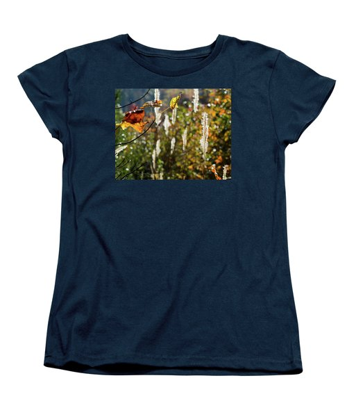 Women's T-Shirt (Standard Cut) featuring the photograph Winter Color by George Randy Bass