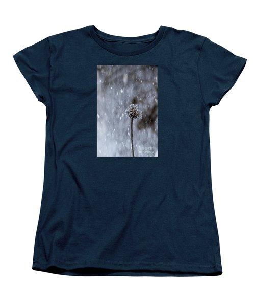 Winter Flower Women's T-Shirt (Standard Cut)