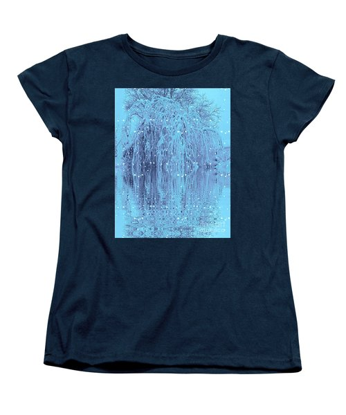 Winter Is Pretty Women's T-Shirt (Standard Cut) by Holly Martinson