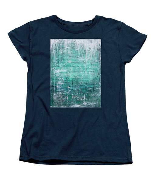Winter Landscape Women's T-Shirt (Standard Cut) by Jocelyn Friis