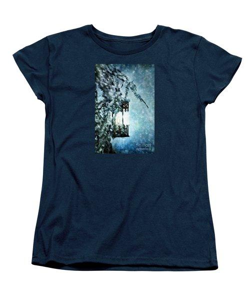 Winter Lantern Women's T-Shirt (Standard Cut)