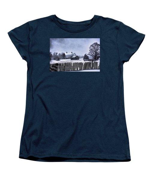 Winter Women's T-Shirt (Standard Cut) by Mark Fuller