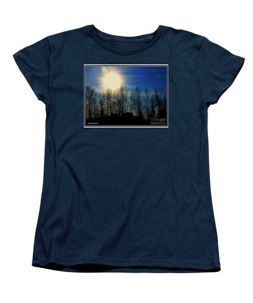 Winter Morning Women's T-Shirt (Standard Cut) by MaryLee Parker