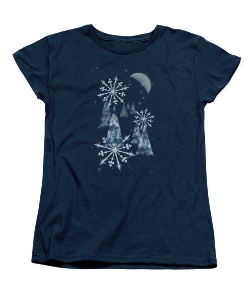Winter Night Women's T-Shirt (Standard Fit)