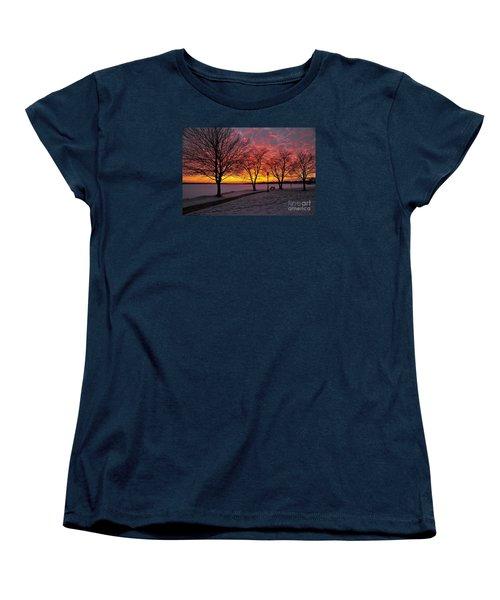 Women's T-Shirt (Standard Cut) featuring the photograph Winter Park by Terri Gostola