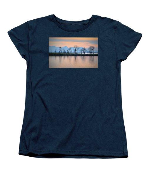 Winter Reflections Women's T-Shirt (Standard Cut)