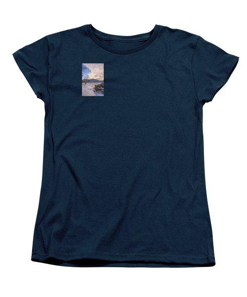 November River Women's T-Shirt (Standard Cut) by Angelo Marcialis