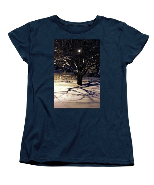 Winter Romace Women's T-Shirt (Standard Cut) by Samantha Thome