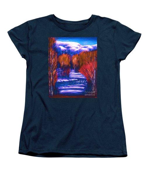 Winter Shadows  Women's T-Shirt (Standard Cut)