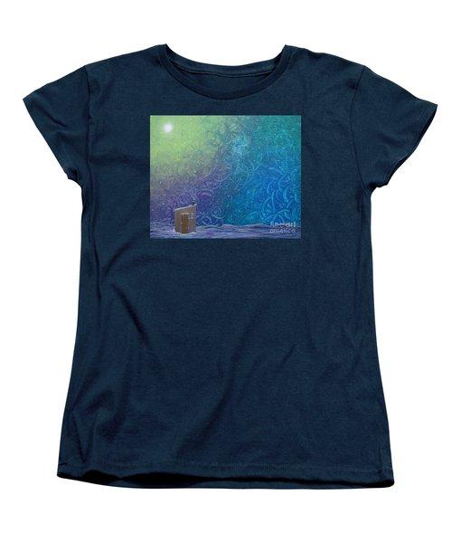 Winter Solitude 2 Women's T-Shirt (Standard Cut) by Jacqueline Athmann