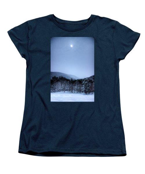 Winter Sun Women's T-Shirt (Standard Cut) by Jonny D