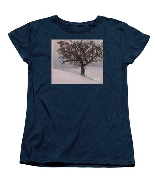 Winter Tree Women's T-Shirt (Standard Cut)