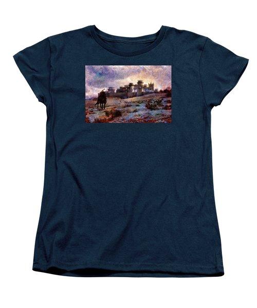 Winterfell Women's T-Shirt (Standard Cut) by Lilia D