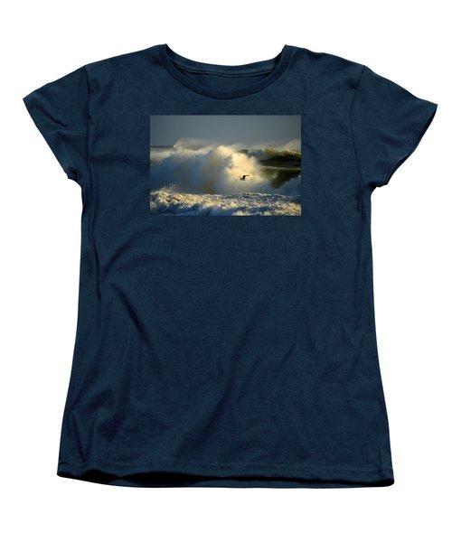 Winter's Passing Women's T-Shirt (Standard Cut) by Dianne Cowen