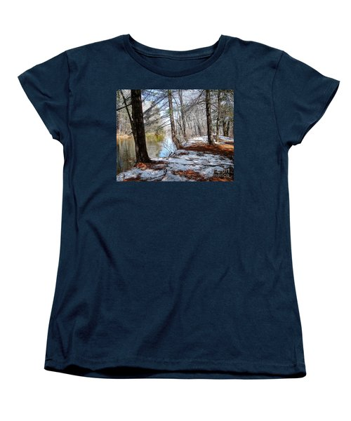 Winter's Remains Women's T-Shirt (Standard Cut) by Betsy Zimmerli