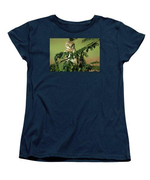 Wise Watcher Women's T-Shirt (Standard Cut) by Sue Cullumber