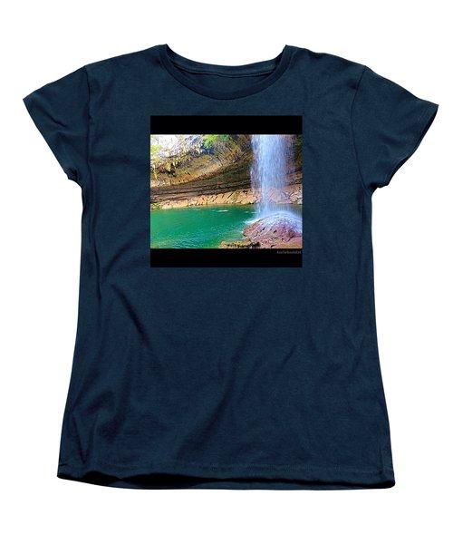 Wishing You A #beautiful #zen Like Day! Women's T-Shirt (Standard Cut) by Austin Tuxedo Cat