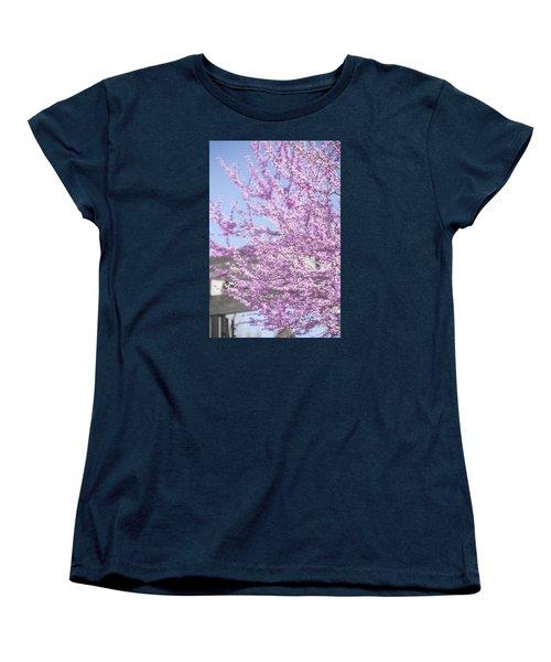 With Exuberance Women's T-Shirt (Standard Cut) by Morris  McClung