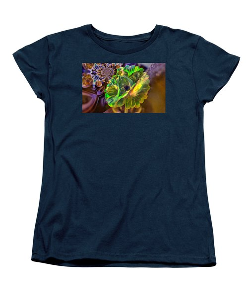 Women's T-Shirt (Standard Cut) featuring the photograph Within The Mind Meld by Jeff Swan