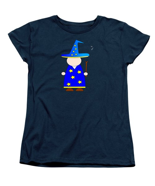 Wizard #2 Women's T-Shirt (Standard Cut) by Frederick Holiday