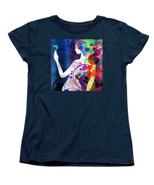 Wonder Women's T-Shirt (Standard Cut) by Angelina Vick