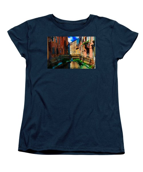 Wooden Bridge Women's T-Shirt (Standard Cut) by Harry Spitz