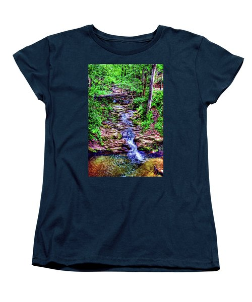 Woodland Stream Women's T-Shirt (Standard Cut)