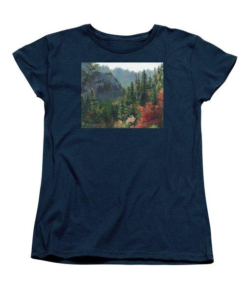 Woodland Wonder Women's T-Shirt (Standard Cut) by Lori Brackett