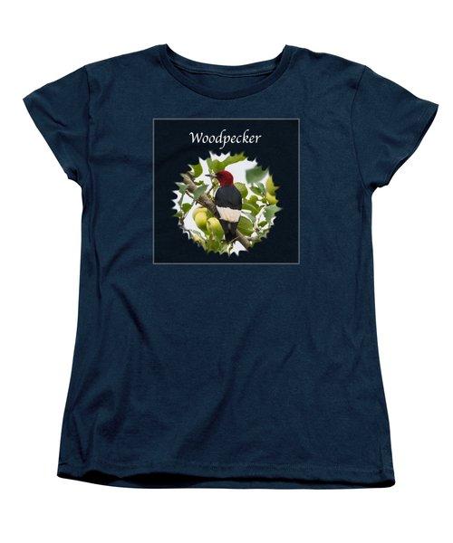 Woodpecker Women's T-Shirt (Standard Cut) by Jan M Holden