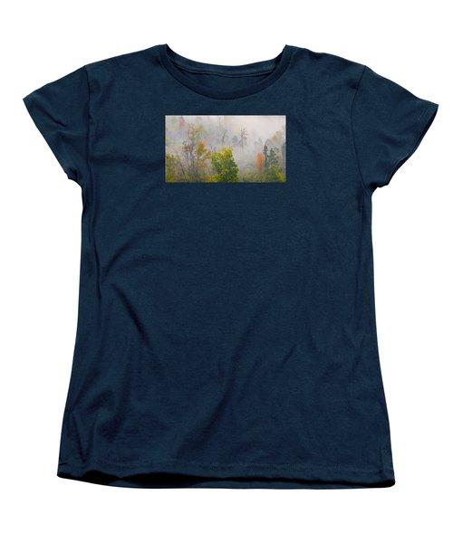 Woods From Afar Women's T-Shirt (Standard Cut)