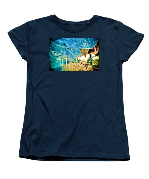 Women's T-Shirt (Standard Cut) featuring the photograph World In My Eyes by TC Morgan