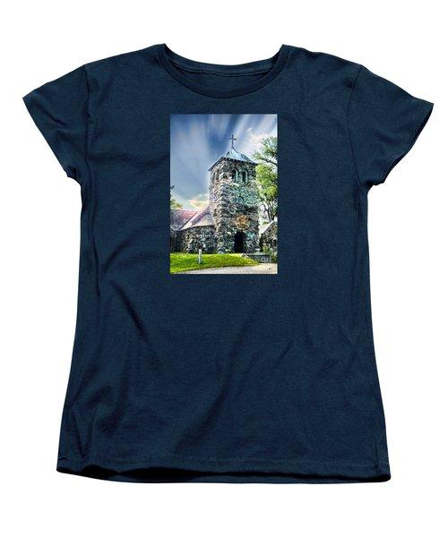 Women's T-Shirt (Standard Cut) featuring the photograph Worship by Alana Ranney