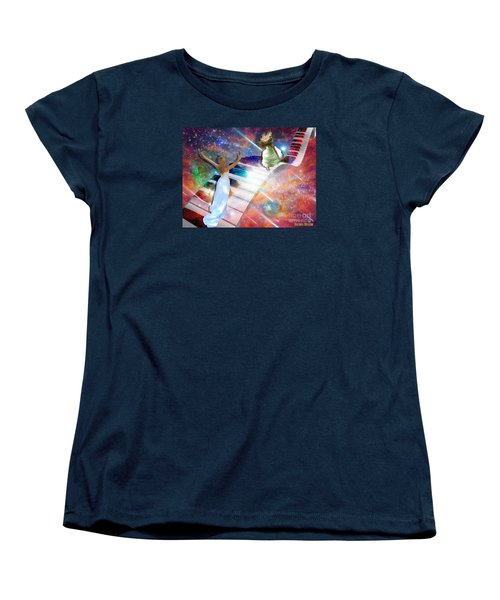 Worship In Spirit And In Truth Women's T-Shirt (Standard Cut) by Dolores Develde