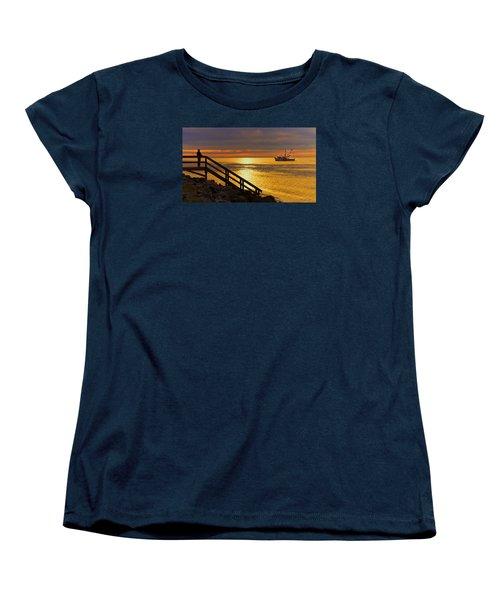 Worth Gettin Up For Women's T-Shirt (Standard Cut) by Laura Ragland