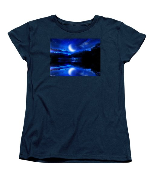 Written In The Stars Women's T-Shirt (Standard Cut) by Bernd Hau
