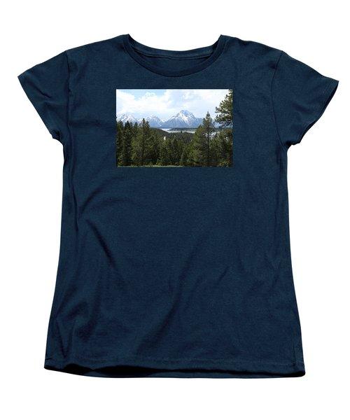 Wyoming 6490 Women's T-Shirt (Standard Cut) by Michael Fryd